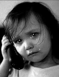 enfant et téléphone