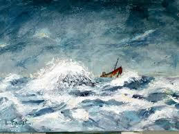 Article 5 -un bâteau en pleine tempête